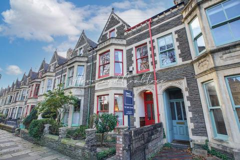 5 bedroom terraced house to rent - Plasturton Gardens, Pontcanna, Cardiff