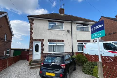 2 bedroom semi-detached house for sale - Houfton Road, Bolsover, Chesterfield, S44 6BW