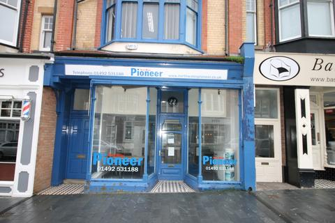 Retail property (high street) to rent - Penrhyn Road, Colwyn Bay