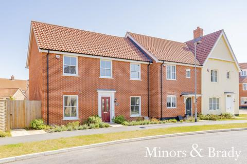 3 bedroom end of terrace house for sale - Hornbeam Road, North Walsham