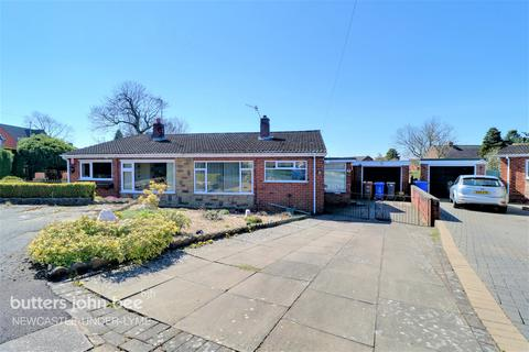 2 bedroom semi-detached bungalow for sale - Balmoral Close, Stoke-On-Trent