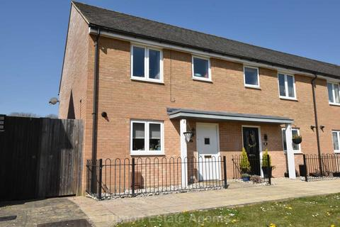 3 bedroom end of terrace house for sale - Amelia Gardens, Rowner