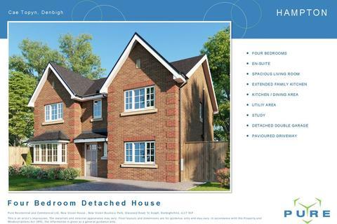 4 bedroom detached house for sale - Cae Topyn, Denbigh