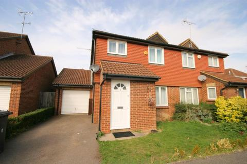 3 bedroom semi-detached house for sale - Thetford Gardens, Bushmead, Luton