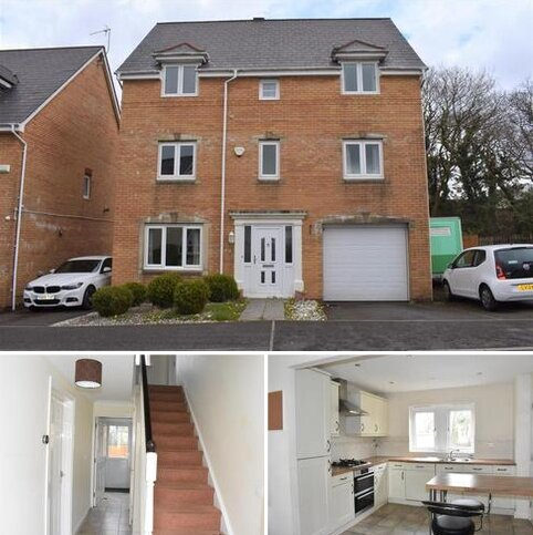 4 bedroom townhouse for sale - Llwyn Teg, Fforestfach, Swansea