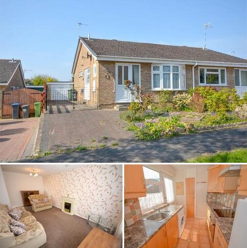 2 bedroom semi-detached bungalow for sale - Derwent Close, Brownsover, Rugby, Warwickshire