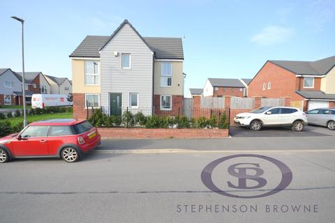 3 bedroom detached house for sale - George Treglown Grove, Bucknall, Stoke-On-Trent