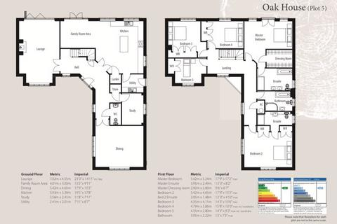 5 bedroom detached house for sale - Oak House, The Woodyard, Stamford Road, Colsterworth