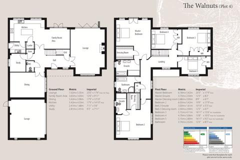 5 bedroom detached house for sale - The Walnuts, The Woodyard, Stamford Road, Colsterworth