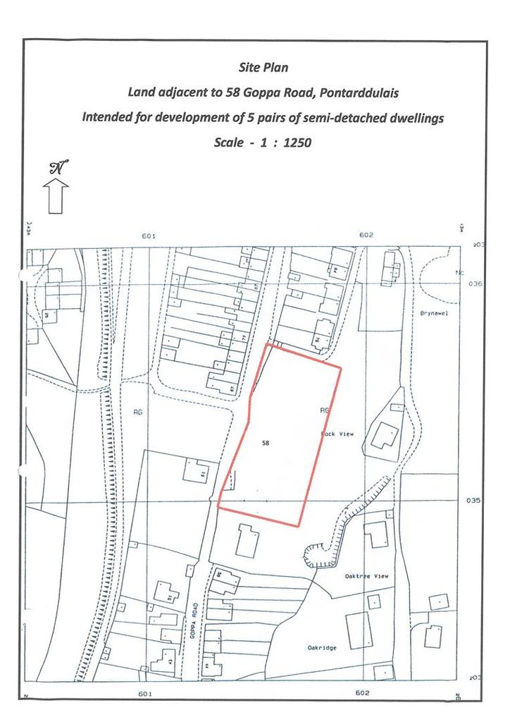 Plot Commercial for sale in Goppa Road, Pontarddulais
