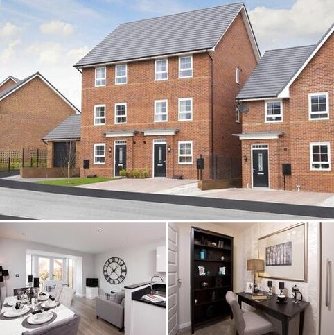 4 bedroom end of terrace house for sale - Plot 139, Fawley at J One Seven, Old Mill Road, Sandbach, SANDBACH CW11