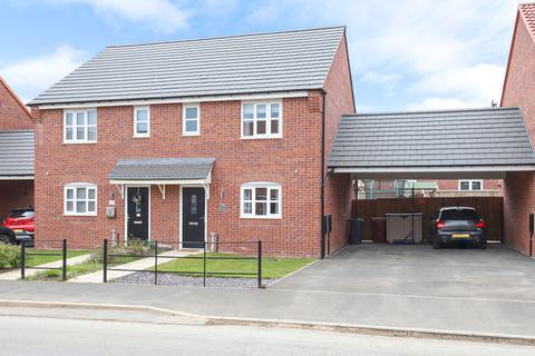 3 bedroom semi-detached house for sale - Lawson Road, Bolsover, Chesterfield