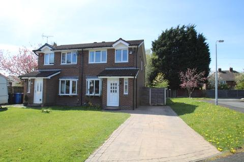 3 bedroom semi-detached house for sale - Woodmount Close, Romiley