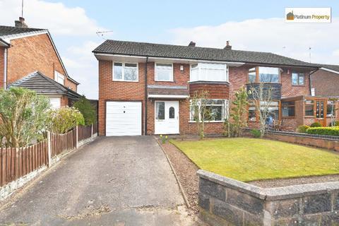 4 bedroom semi-detached house for sale - Caverswall Old Road, Forsbrook, ST11 9BL