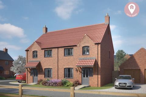 2 bedroom semi-detached house for sale - Glebe Rise, Wymondham, Melton Mowbray