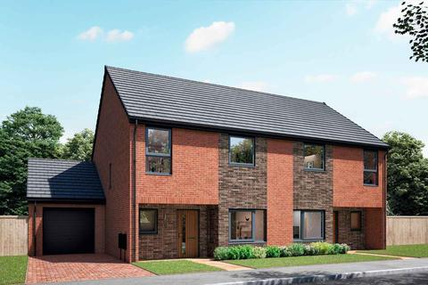 3 bedroom semi-detached house for sale - Plot 09, The Delaval at Gibside Chase, Sherburn Green, Rowlands Gill NE39