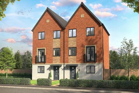 3 bedroom terraced house for sale - Hayton Way, Kingsmead, Milton Keynes