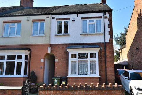 3 bedroom end of terrace house for sale - Central Avenue, Wigston