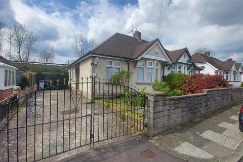 2 bedroom semi-detached bungalow for sale - Fairfield Close, Victoria Park, Cardiff