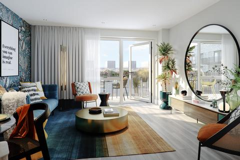 1 bedroom flat for sale - Plot pontoonreachso-1bed-fullvalue-May21 at Pontoon Reach SO, North Woolwich Road, Royal Docks E16