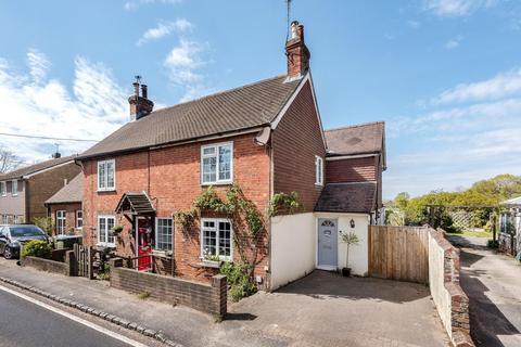 3 bedroom end of terrace house for sale - Fieldings Cottages, Stane Street, Five Oaks, Billingshurst, RH14