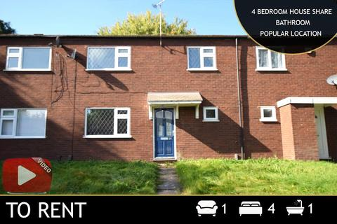4 bedroom terraced house to rent - Dannett Walk, Leicester, LE3