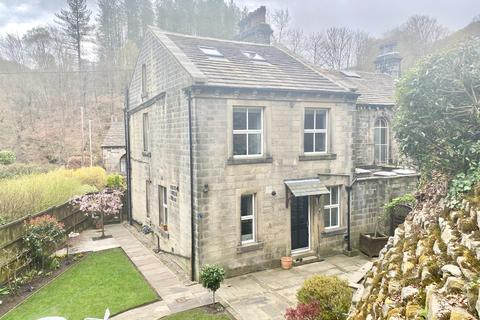 3 bedroom semi-detached house for sale - Hinchliffe Cottage, Cragg Vale, HX7