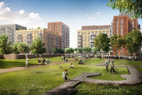 1 bedroom flat to rent - Barking Wharf Square, Barking, IG11