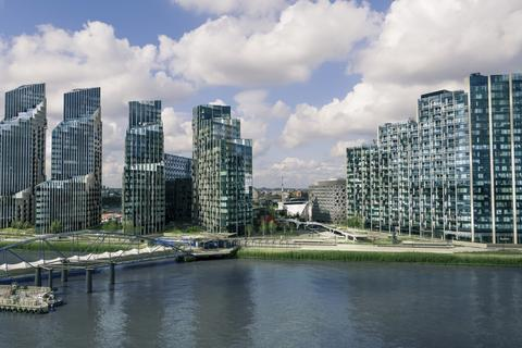 3 bedroom flat for sale - Upper Riverside Greenwich Peninsula SE10