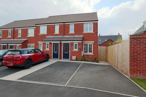 2 bedroom end of terrace house for sale - Harston Grove, Stone
