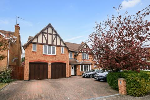 5 bedroom detached house for sale - Lexden Close, Wootton, Northampton, NN4