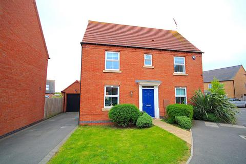 3 bedroom detached house for sale - Knight Close, Leicester Forest East