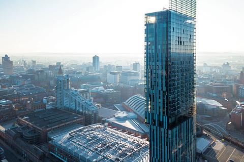 2 bedroom flat to rent - Hilton, Beetham Tower, Deansgate, M3