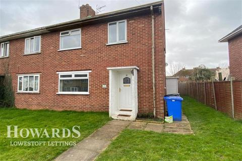 3 bedroom semi-detached house to rent - Tedder Road, Lowestoft