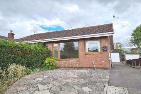 1 bedroom semi-detached bungalow to rent - Churchill Avenue, Cheddleton, Staffordshire