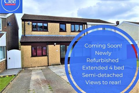 4 bedroom semi-detached house for sale - Brangwyn Close, Morriston, Swansea, City And County of Swansea.