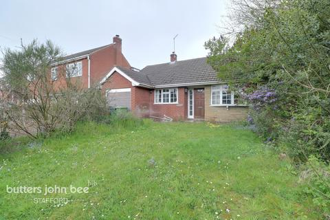 2 bedroom detached bungalow for sale - Wharf Dale, Stafford