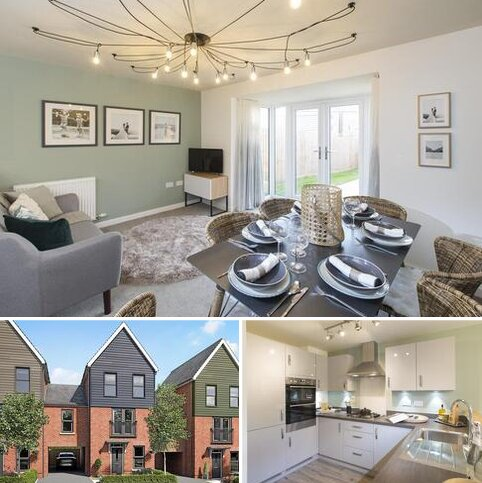 3 bedroom terraced house for sale - Plot 7, Cannington at New Lubbesthorpe, Tweed Street, Lubbesthorpe, LEICESTER LE19