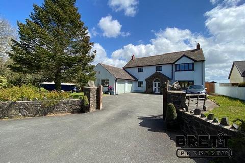 5 bedroom detached house for sale - Freshwater East Road, Lamphey, Pembroke, Pembrokeshire. SA71 5JX