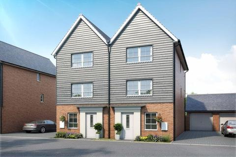 4 bedroom semi-detached house for sale - Plot 61, Haversham at Canal Quarter at Kingsbrook, Burcott Lane, Aylesbury, AYLESBURY HP22