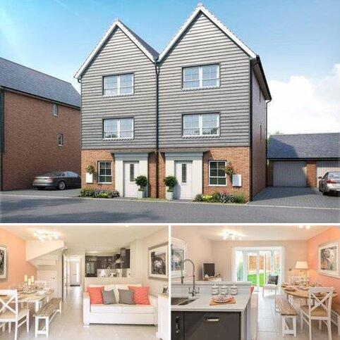 4 bedroom semi-detached house for sale - Plot 61, Haversham at Canal Quarter at Kingsbrook, Burcott Lane, Aylesbury, AYLESBURY HP22