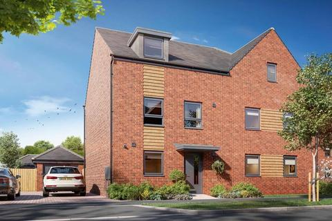 4 bedroom end of terrace house for sale - Plot 26, Woodcote at Barratt Homes at Linmere, Houghton Road, Chalton, HOUGHTON REGIS LU4
