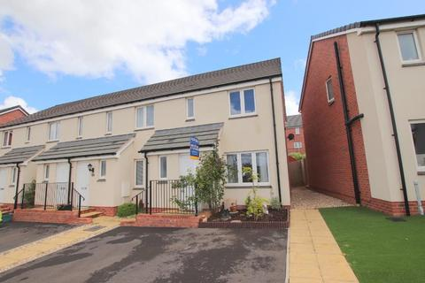 3 bedroom end of terrace house for sale - Desmond Rochford Way, Bishops Hull, Taunton TA1