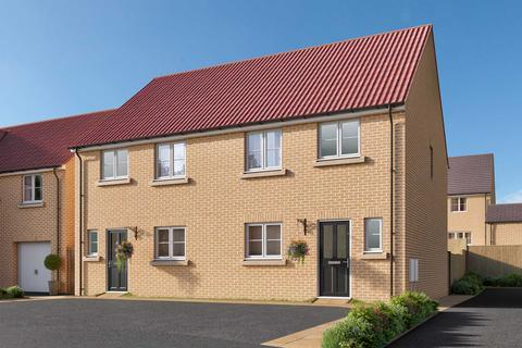 3 bedroom semi-detached house for sale - Plot 32, The Eveleigh at Cayton Reach, The Boulevard, Middle Deepdale, Scarborough YO11