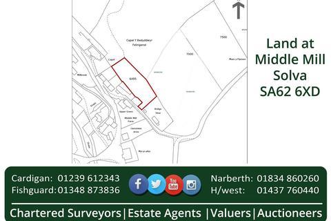 Farm land for sale - Middle Mill, Solva, Haverfordwest