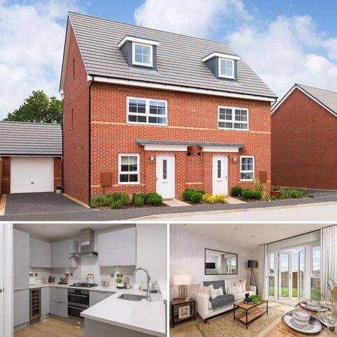 4 bedroom end of terrace house for sale - Plot 328, Kingsville at Woodland Heath, Salhouse Road, Rackheath, NORWICH NR13