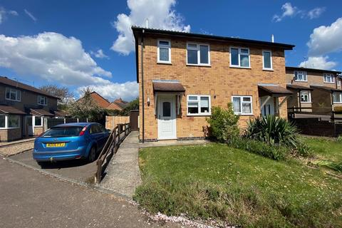 2 bedroom semi-detached house to rent - Simons Close, Wigston, LE18 3UD
