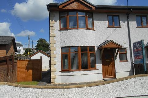 3 bedroom semi-detached house for sale - Brynawel Road, Ystradgynlais, Swansea.
