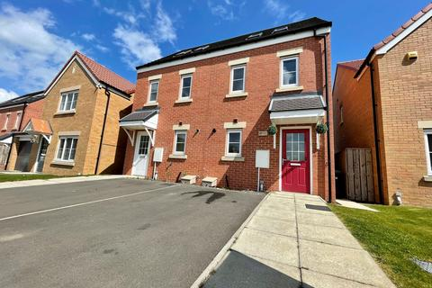 3 bedroom semi-detached house for sale - Whitehouse Court, Easington Village, Peterlee, Durham, SR8 3HZ