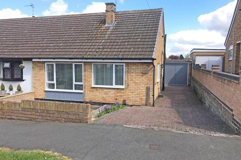 2 bedroom semi-detached bungalow for sale - Hillside Avenue, Wigston
